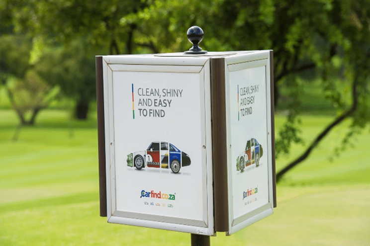 Golf Ads proves successful for Carfind.co.za