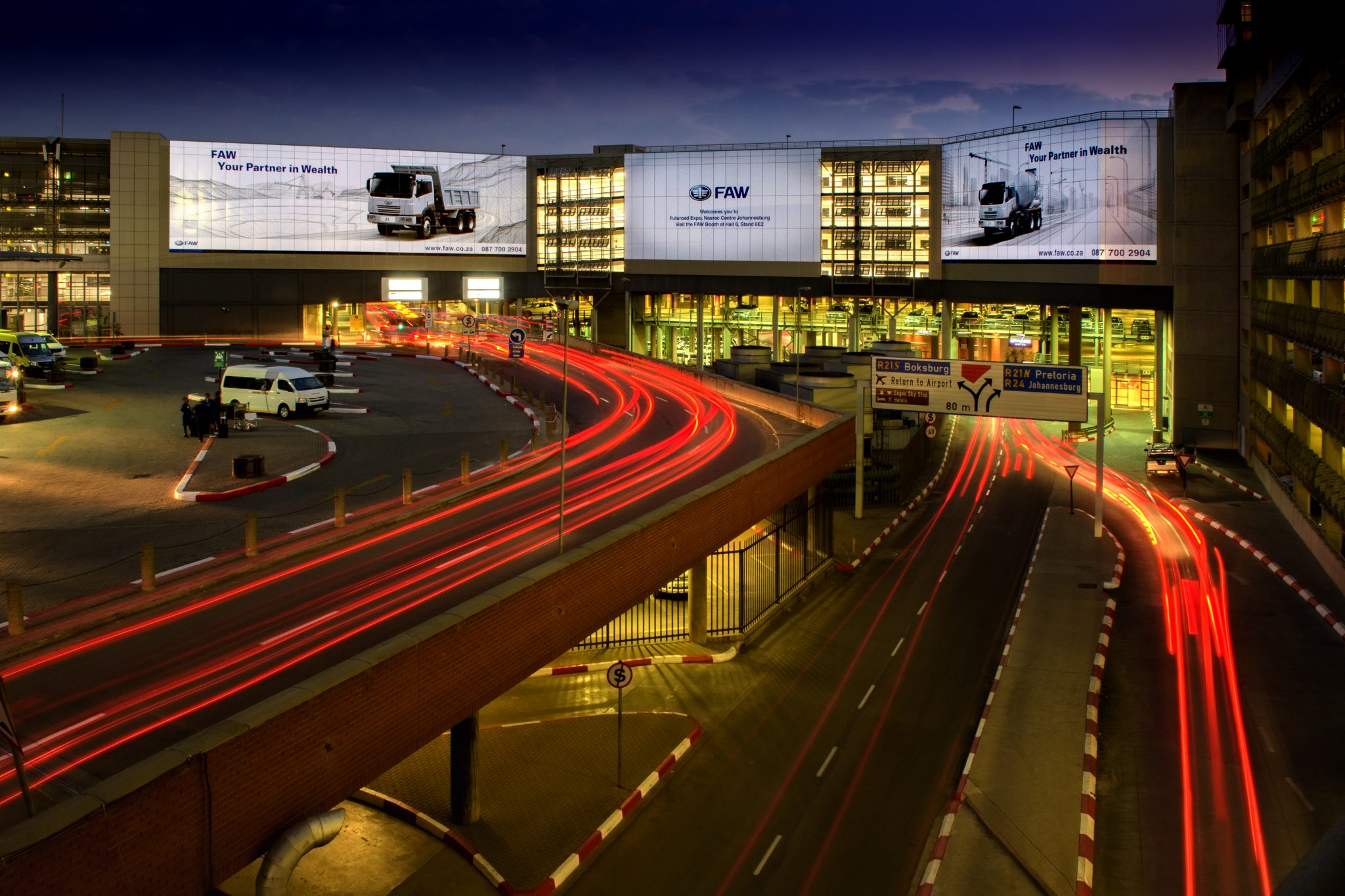 FAW drives its message home with Airport Ads at ORT