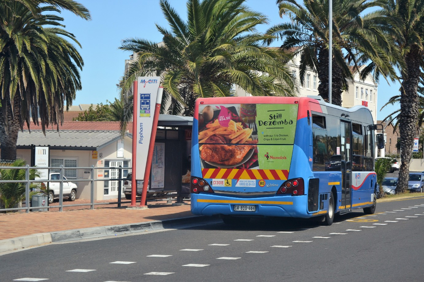 Nando's takes the bus in Cape Town