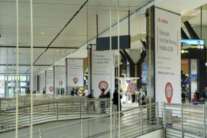 Airport Ads ABSA domination campaign