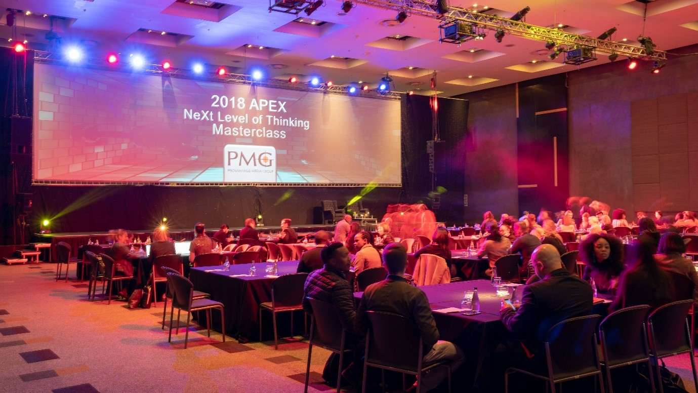 PMG's continued association with the APEX Awards