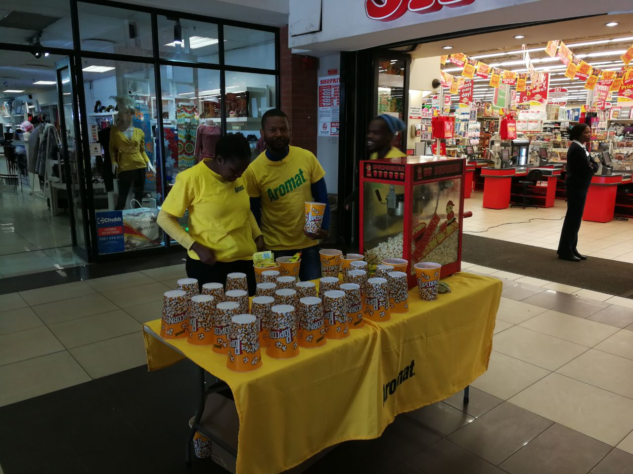 Mall Ads implements campaign for Aromat