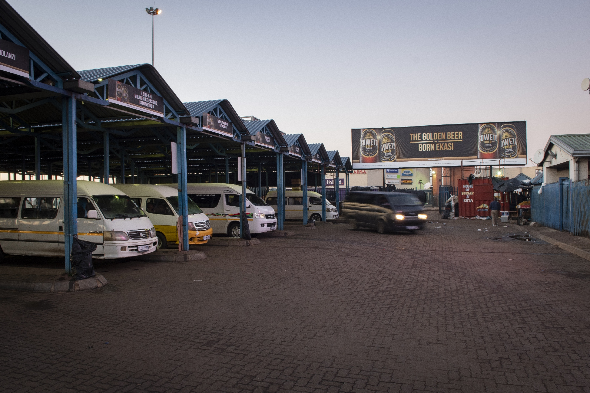Transit Ads implements Rank campaign for Soweto Gold