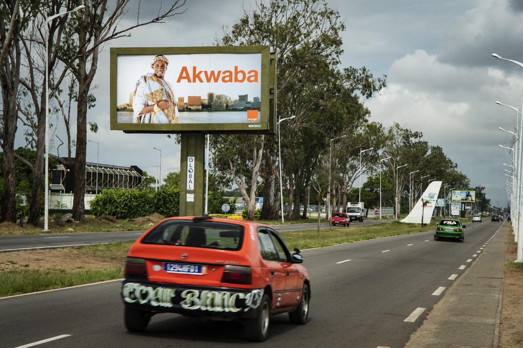 Orange Ivory Coast Billboard
