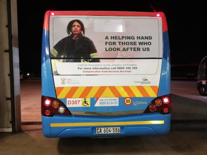 MyCiTi Bus Branding