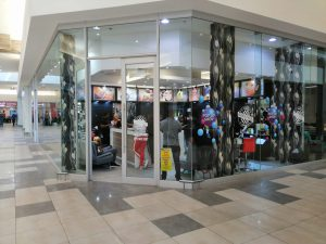Pop-Up Store in busy mall in Johannesburg