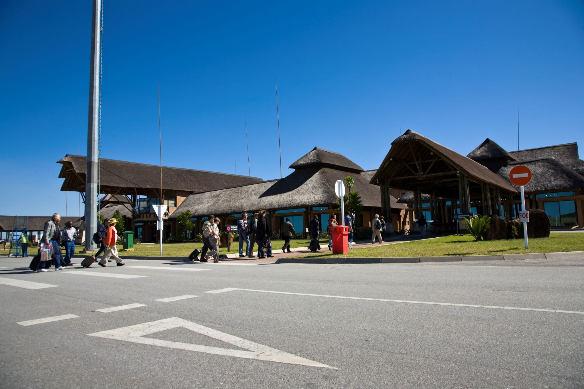 International airport building in mpumalanga
