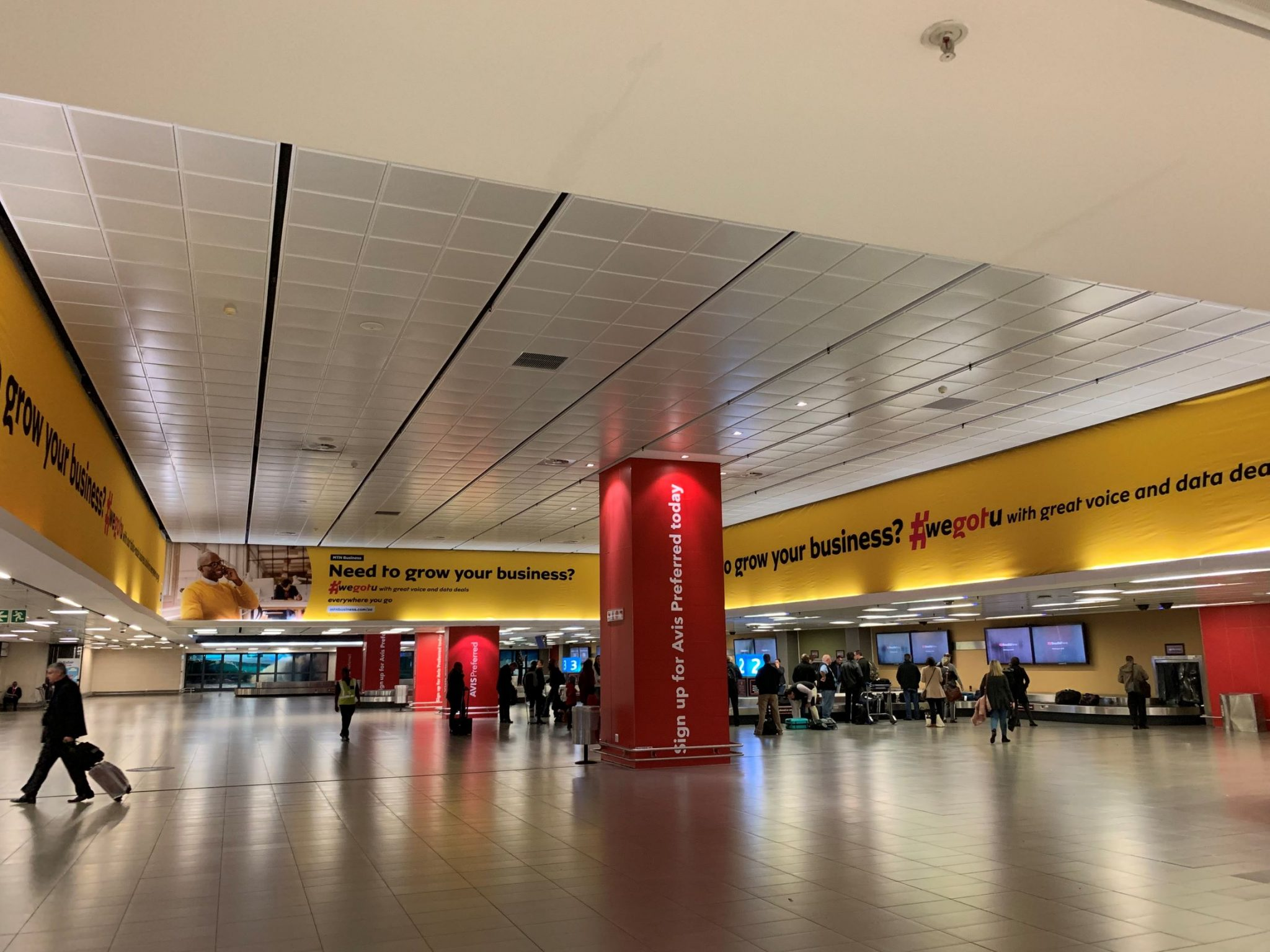 MTN Business 'goes' directly to target audience with national Airport Ads campaign
