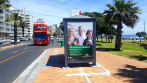 Branded MyCiTi Bus Shelter in Cape Town