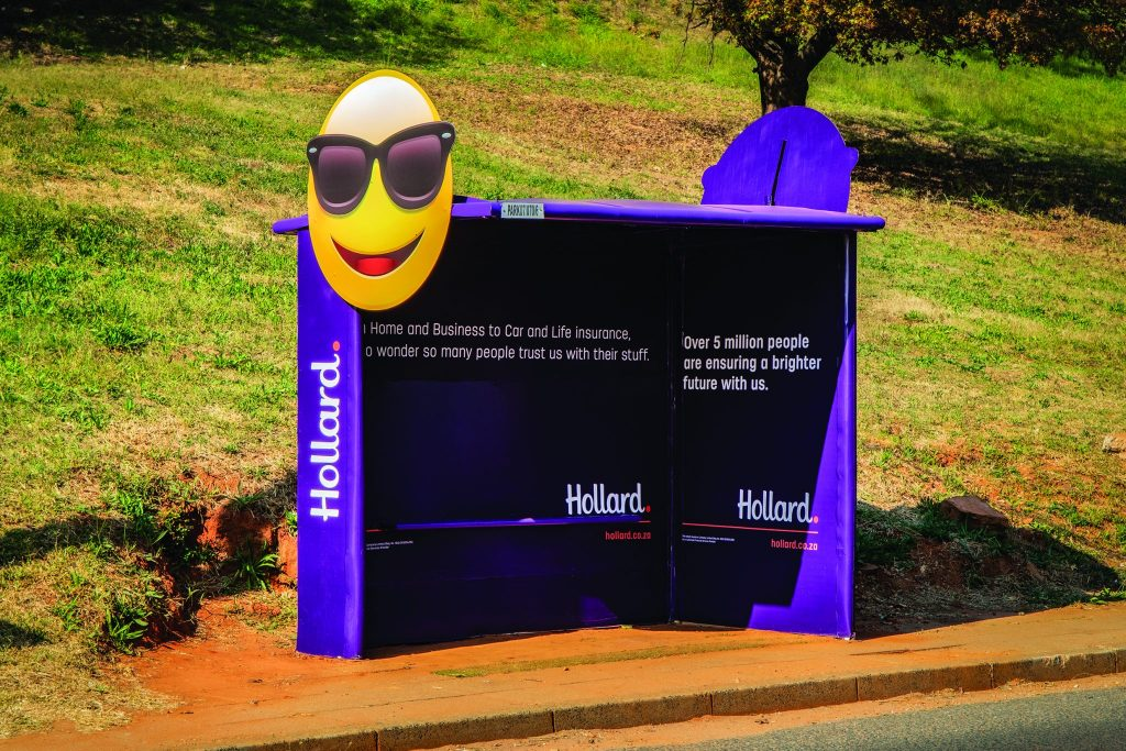 Hollard Bus Shelter Johannesburg